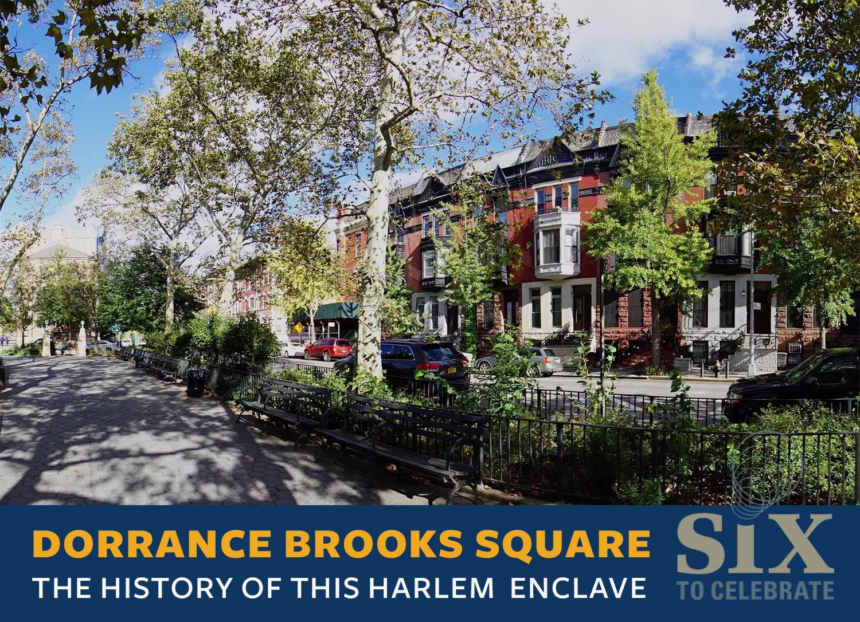 Dorrance Brooks Square: A Harlem enclave with World War and