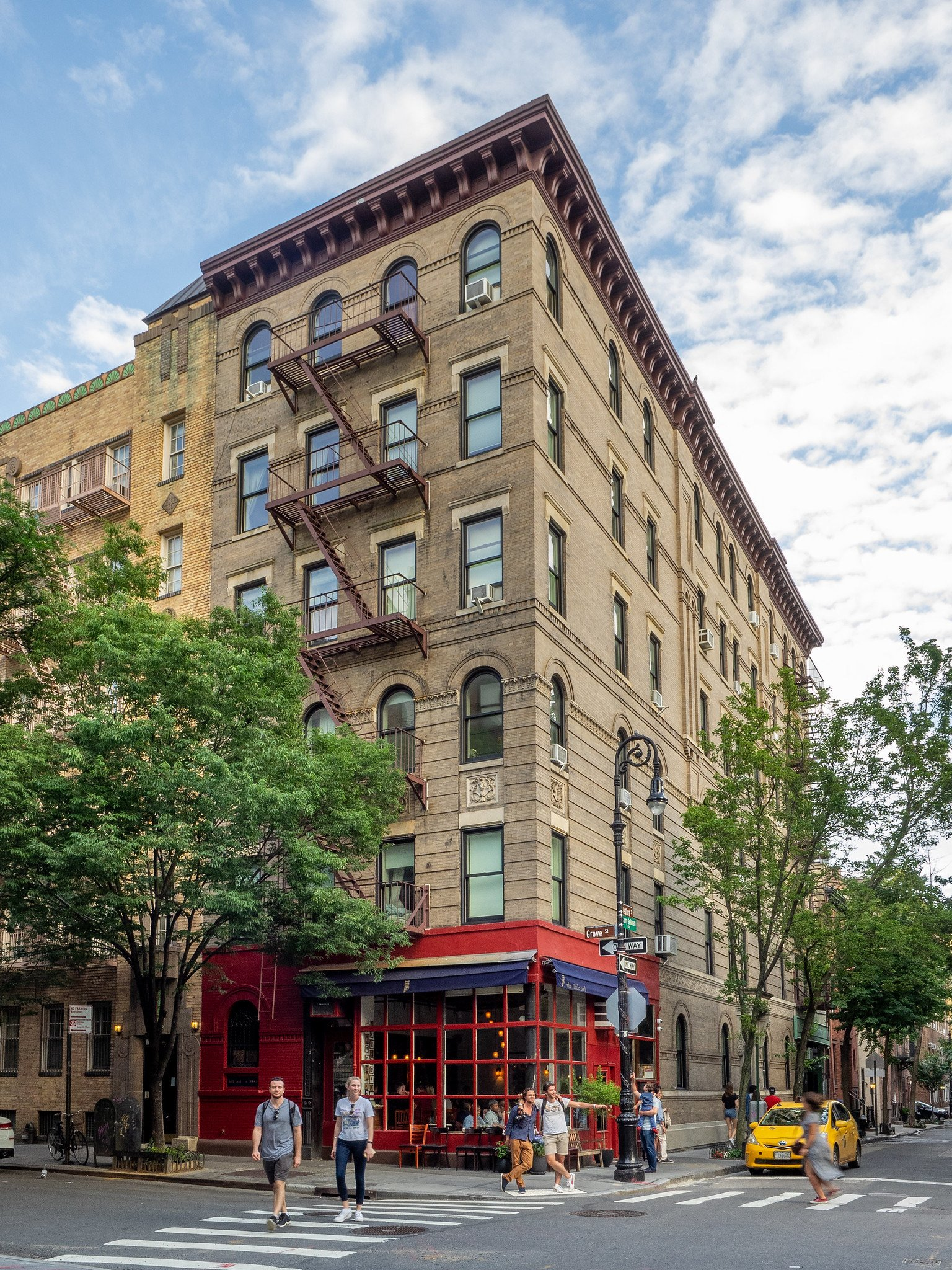 Image result for the building where friends was filmed