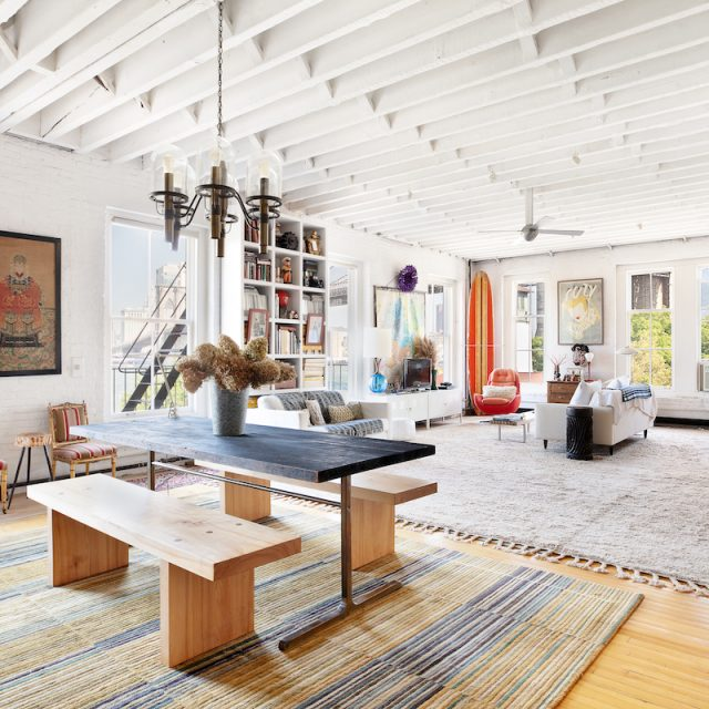 $3.25M Brooklyn Heights loft mixes historic bones with surfer-chic style