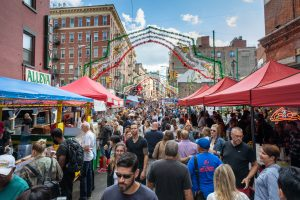 feast of san gennaro, james and karla murray, little italy