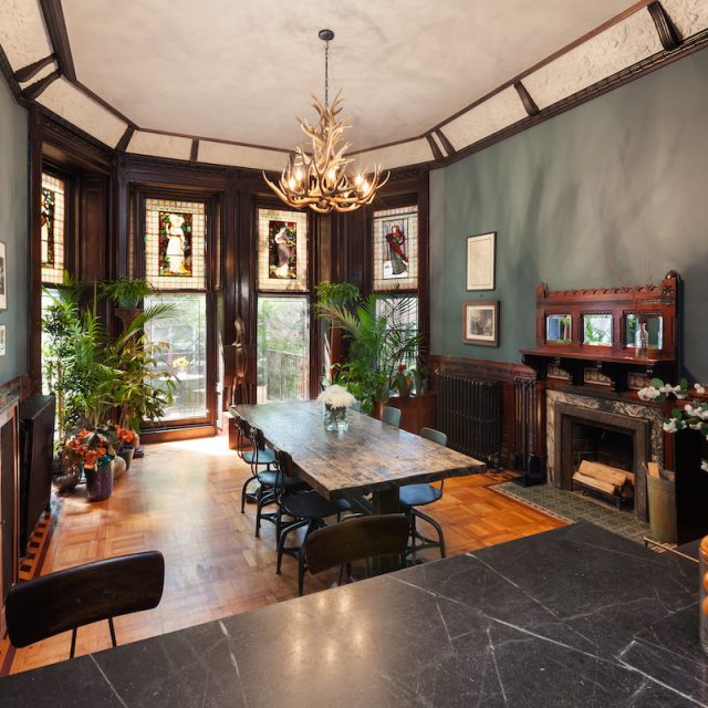 Sublime interiors and two terraces make this $1.9M Brooklyn Heights brownstone duplex extraordinary