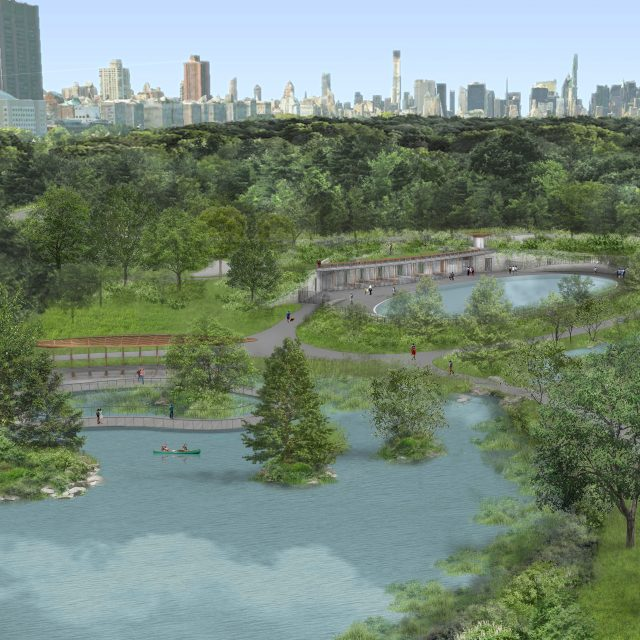 REVEALED: $150M renovation of Central Park North includes new pool, skating rink, and more