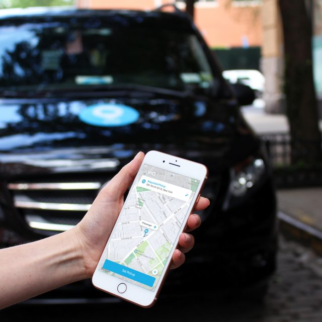 Jersey City to launch on-demand bus service operated by ride-sharing app Via