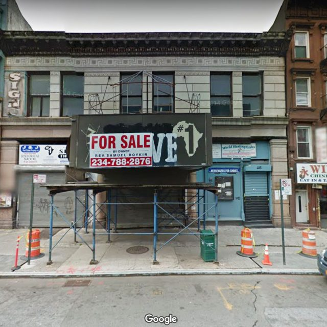 Site of former Slave Theater in Bed-Stuy will get a 10-story co-living and hotel building