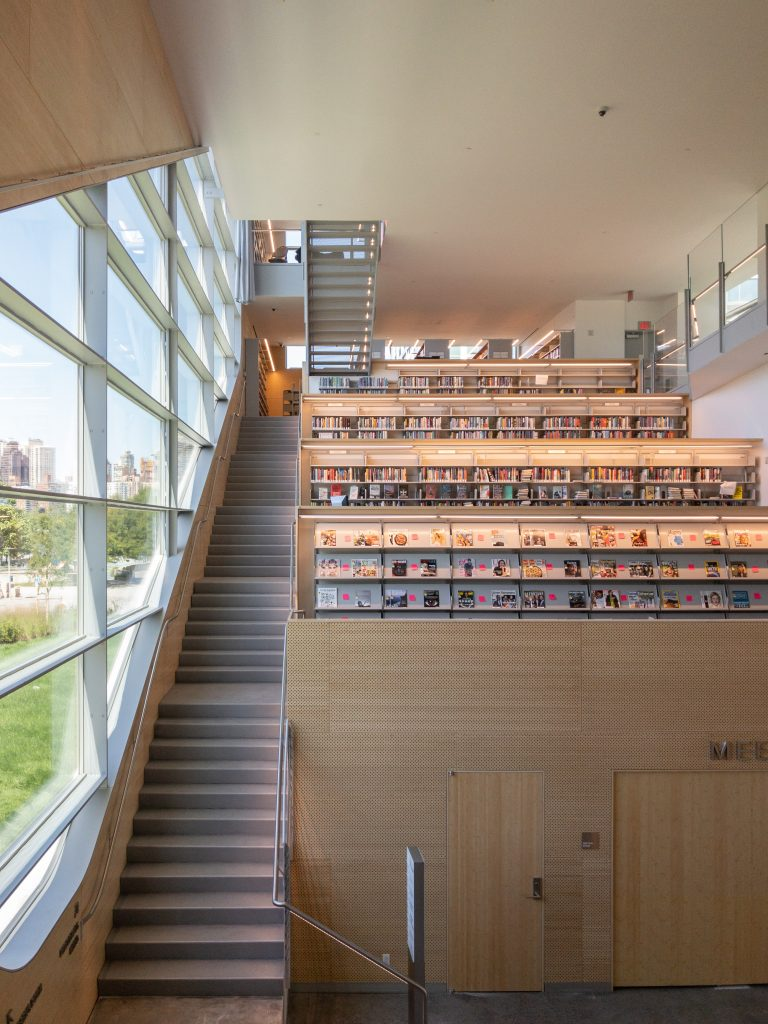 Hunters Point Library will move fiction shelves in response to ...