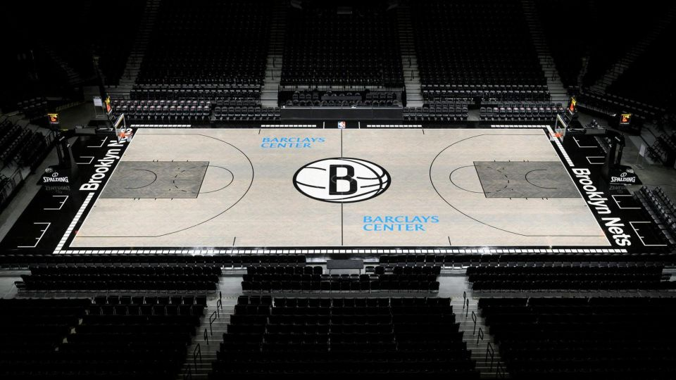 The Nets Reveal New Barclays Center Court Design Inspired