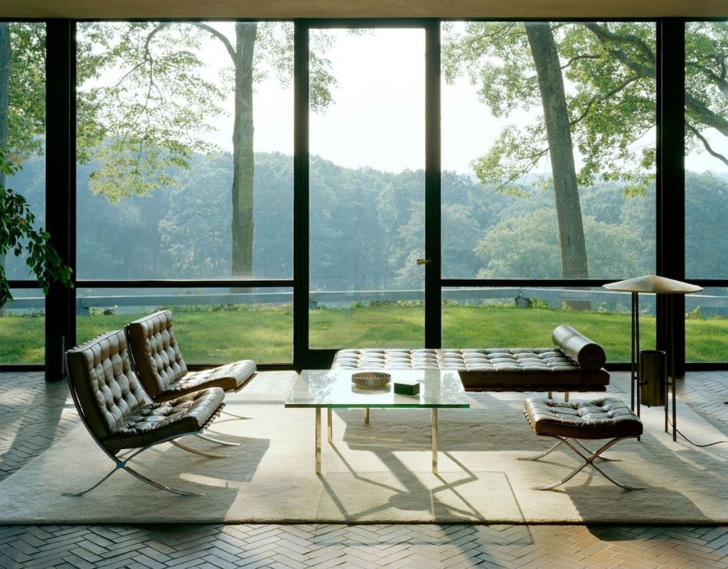 Phillip Johnson, glass house, archtober, events, tours