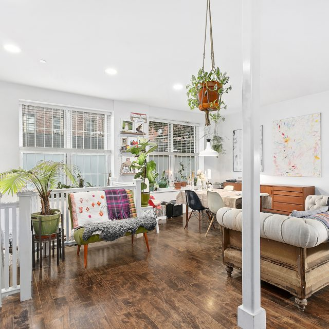 For $1.2M, a lovely Greenpoint duplex with a private patio and proximity to McCarren Park
