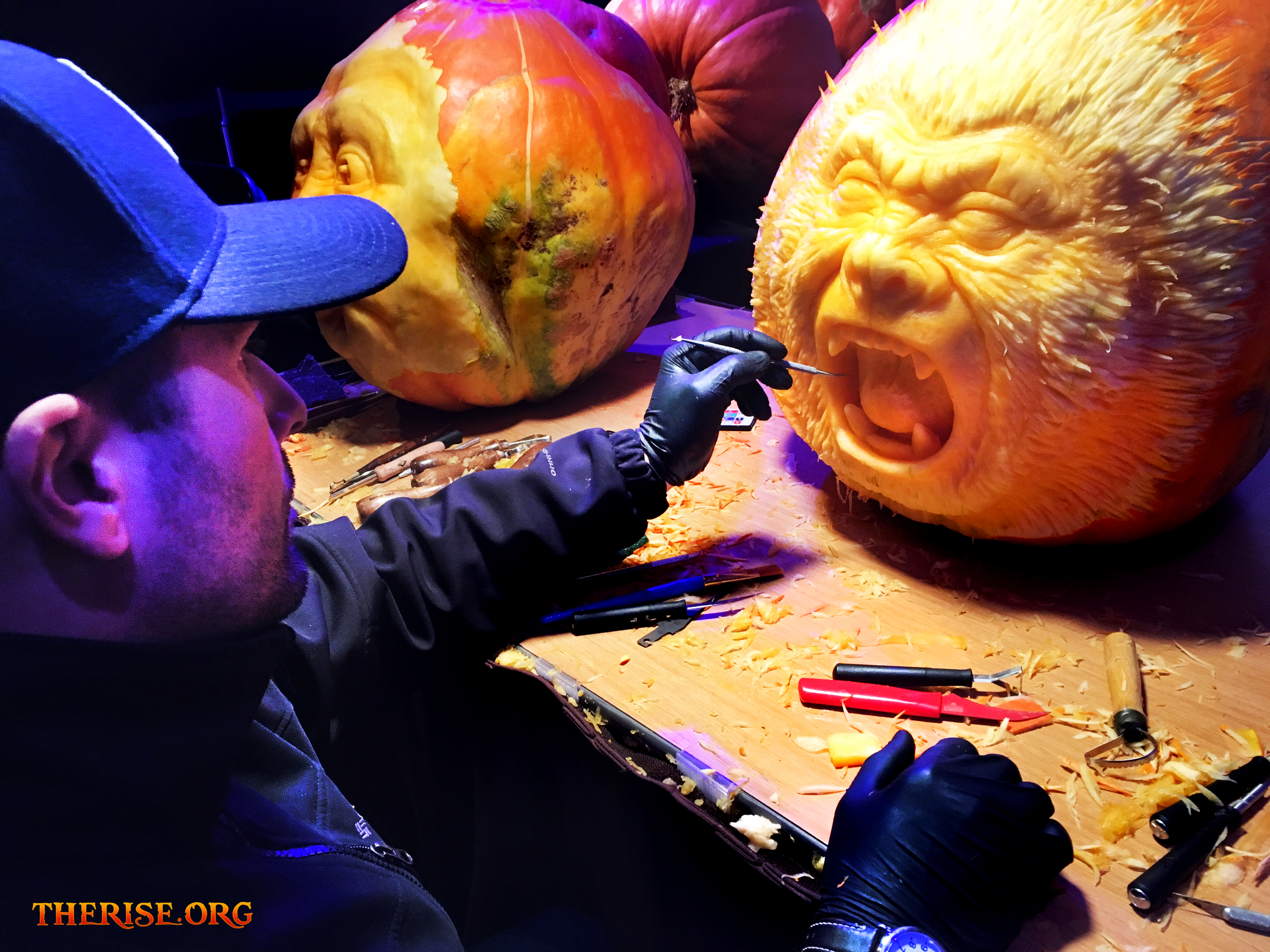 Night of 1,000 jack o lanterns, halloween, pumpkins, events, governors island