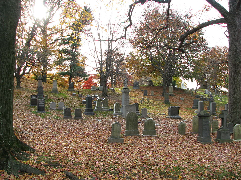 events, halloween, green-wood cemetery