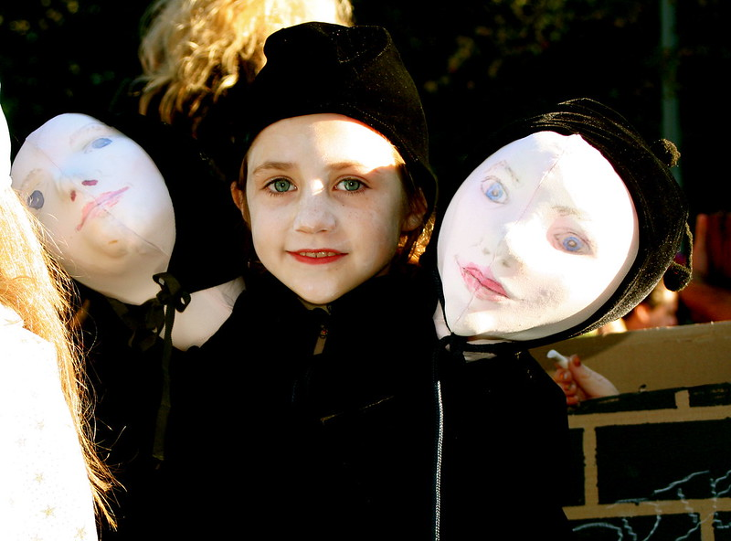 halloween, events, children's halloween parade, Greenwich Village, kids