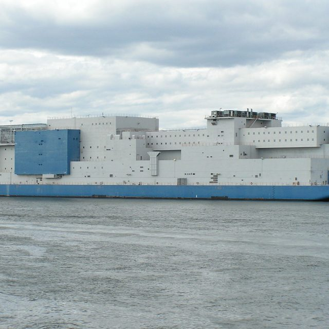 The East River prison barge, intended to be temporary, draws ire amid plans to close Rikers