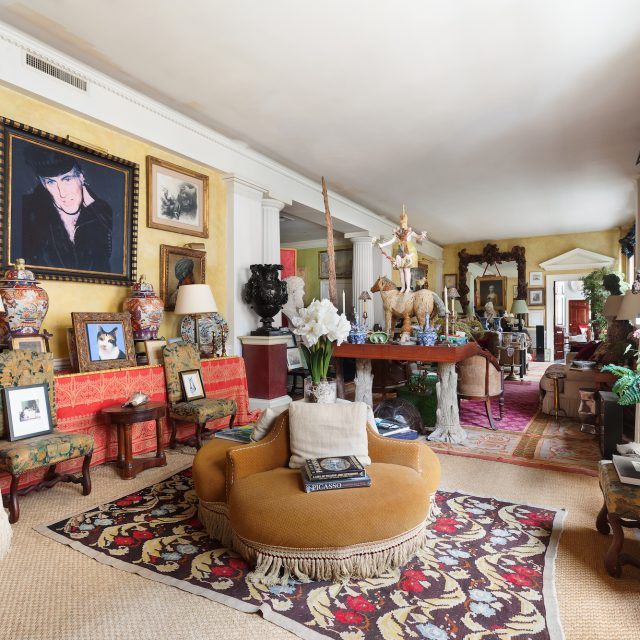Resembling an English estate, Sir John Richardson's full-floor Flatiron co-op seeks $7.2M