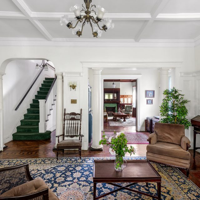 This handsome $2.25M Midwood Park Victorian has enough room for guests to stay a while