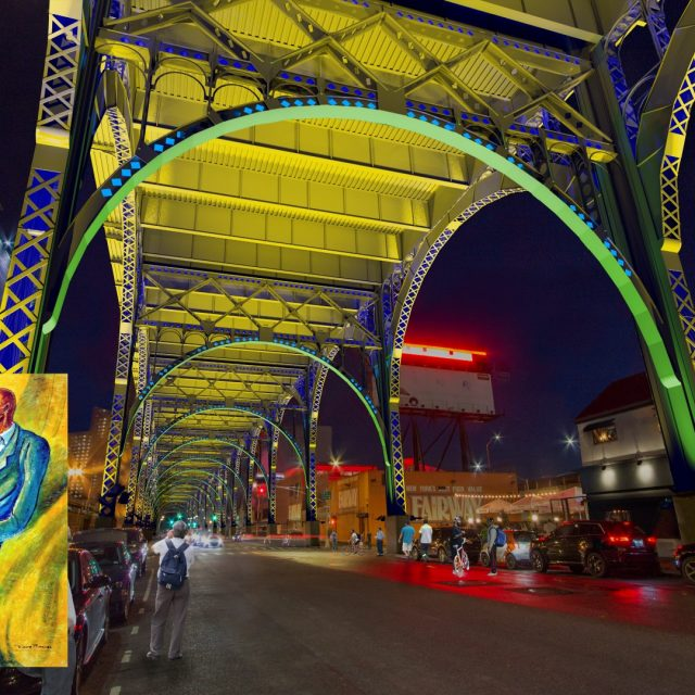 The Arches of Harlem aims to turn the Riverside Drive Viaduct into a public light-art installation