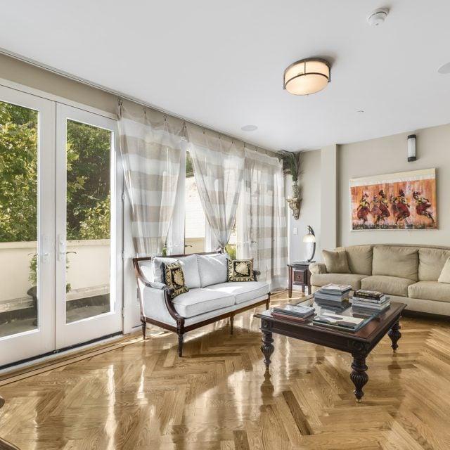 William Lescaze's modernist Upper East Side townhouse is back for a slightly reduced $19.5M