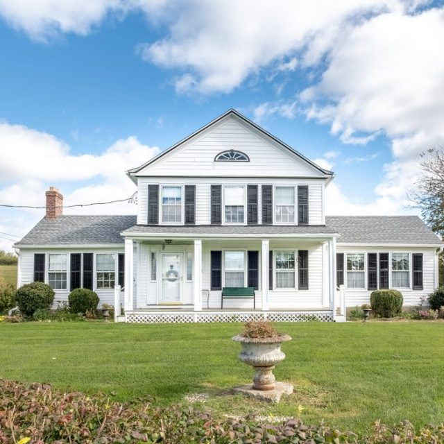 This upstate farmhouse comes with 30+ acres and an abundant fruit orchard for just under $700K