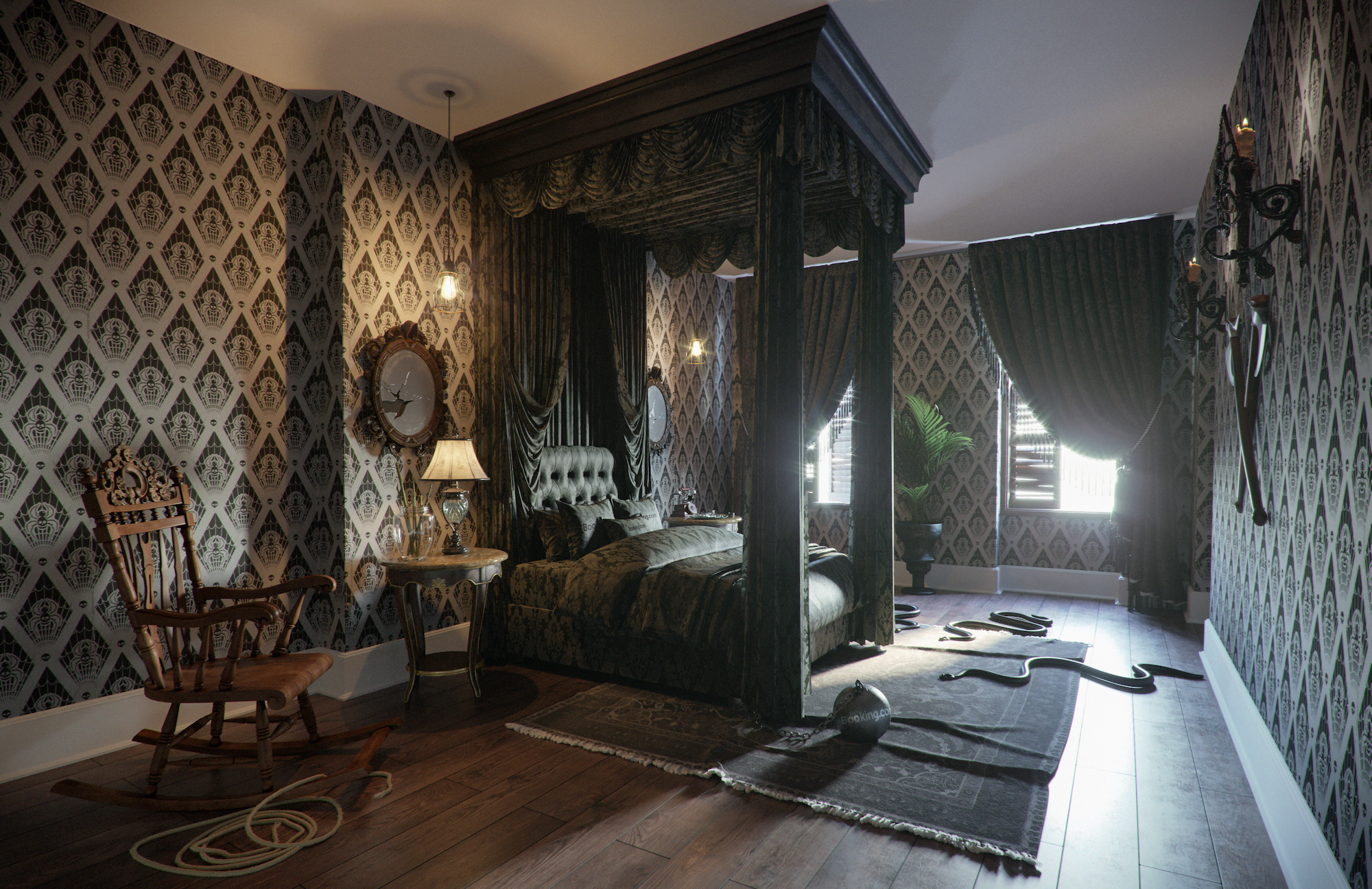 Stay at the creepy and kooky 'Addams Family Mansion' in ...
