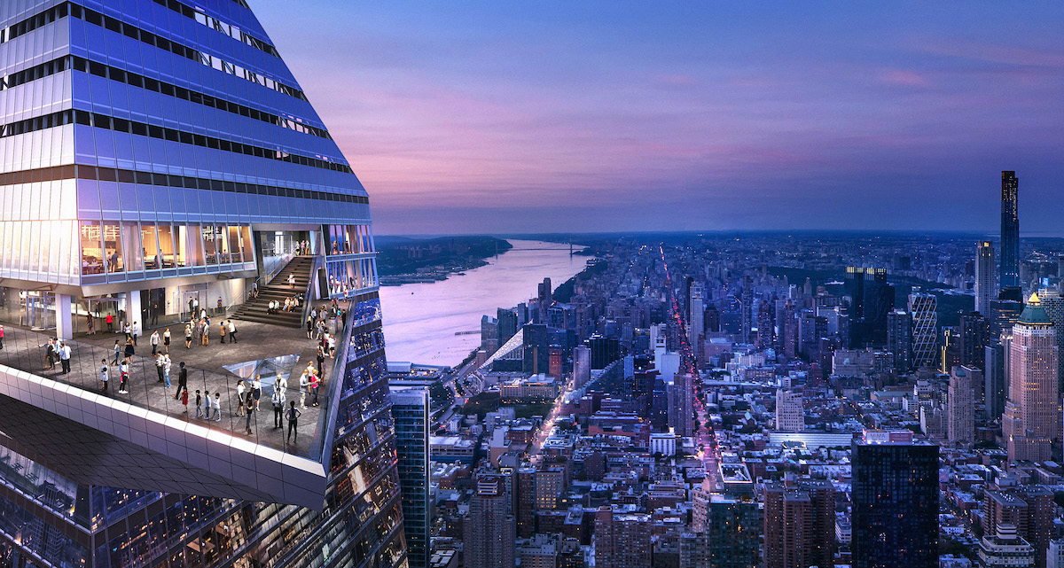 Edge, hudson yards, observation deck