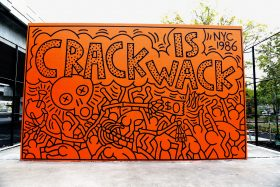 Keith Haring, Crack is Wack, Murals, East Harlem, Restoration