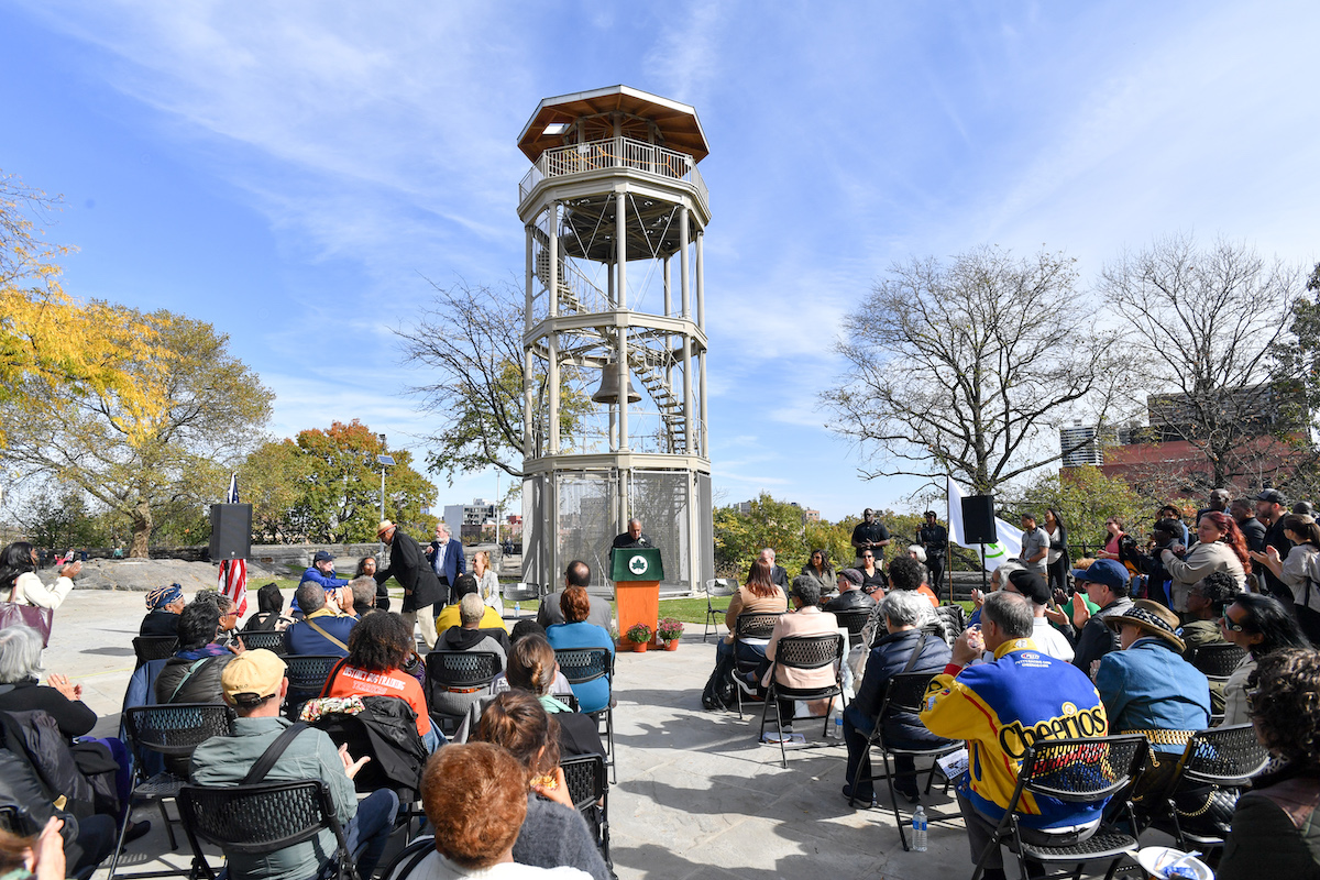 Harlem S Historic Mount Morris Fire Watchtower Returns To Marcus Garvey Park After A 7 9m Restoration 6sqft So during bundy's trial, an entire row behind him was actually reserved for his groupies. harlem s historic mount morris fire watchtower returns to marcus garvey park after a 7 9m restoration 6sqft