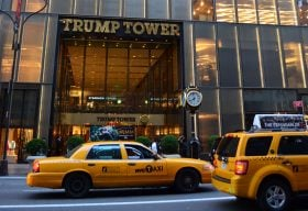 trump tower, real estate values