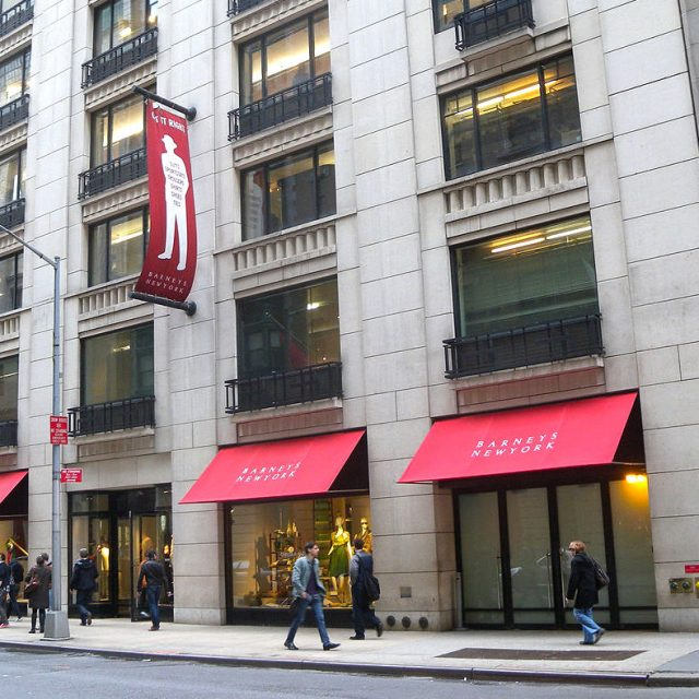 All Barneys New York stores to close by end of the month