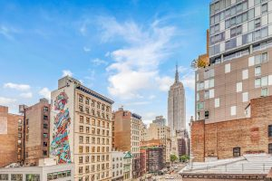 225 Fifth Avenue, condos, Grand Madison, Madison Square Park, Empire State Building, Gilded Lady mural, Nomad