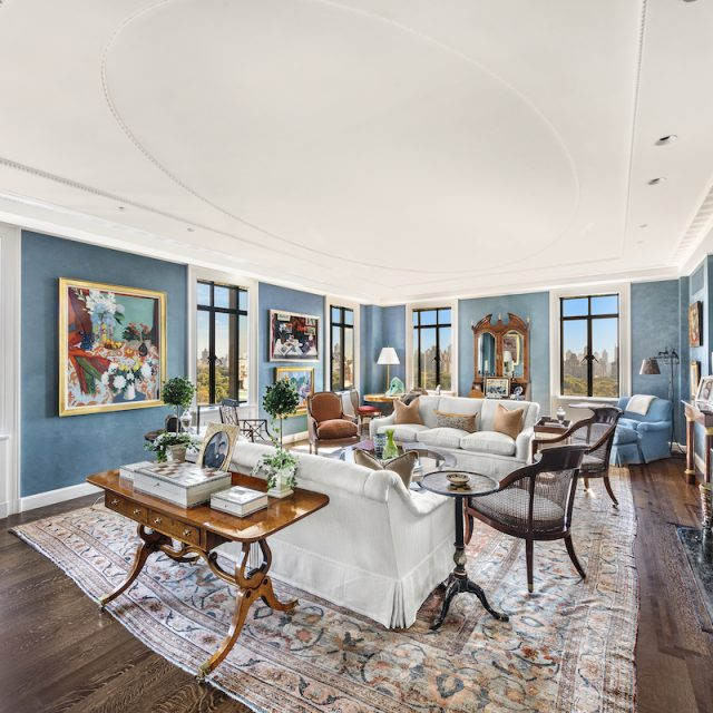 A 15th-floor Gilded-Age classic in the San Remo's north tower asks $25M