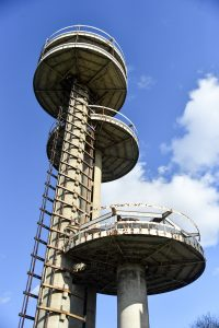 New York State Pavilion, world's fair pavilion, philip johnson, new york city department of parks, nyc parks, restoration, flushing meadows, corona park, queens, world's fair, historic sites