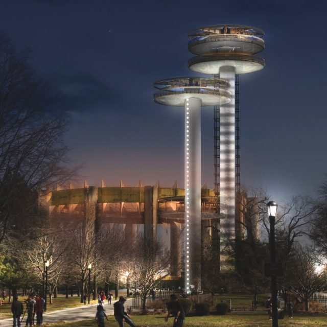 NYC Parks breaks ground on $24M project to restore Philip Johnson's 1964 World's Fair Pavilion