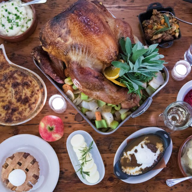 Where to go out for Thanksgiving dinner in NYC