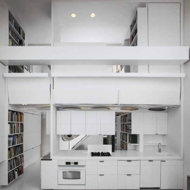 $1.1M Noho duplex is a futuristic white box