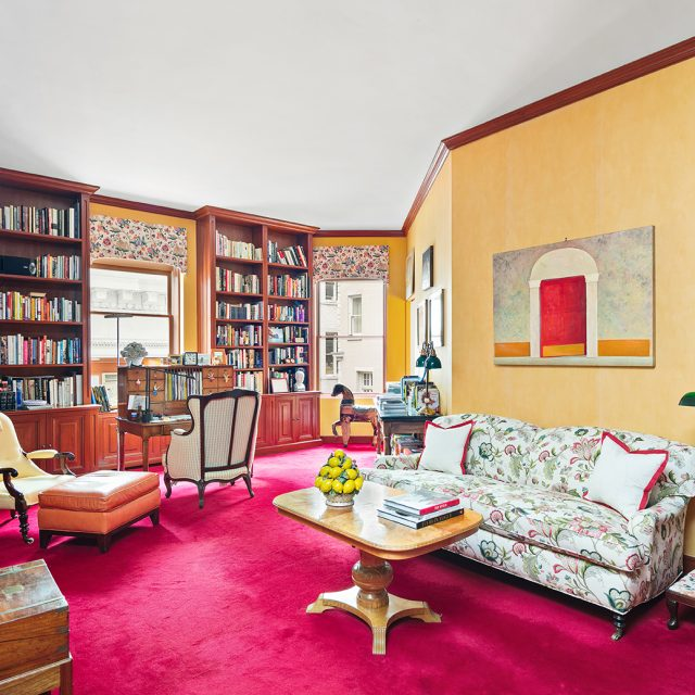 Live on two glorious floors of an Upper East Side French Gothic mansion for $4M