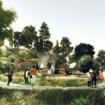 Little Island, Pier 55, Hudson River Park, Mathews Nielsen Landscape Architects, Barry Diller