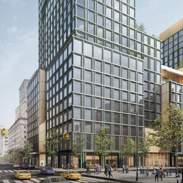 SOM reveals designs for new Disney HQ in Hudson Square