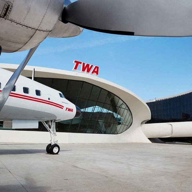 Runway Rink lands at landmark TWA Hotel's tarmac for daily skating and ice shows