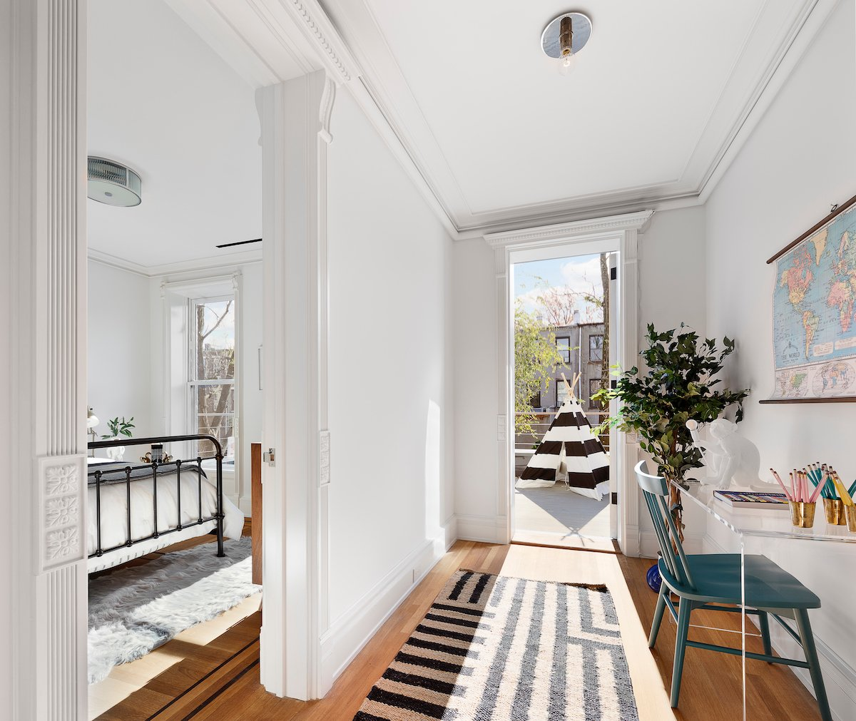 158 Halsey Street, Bed-Stuy, brownstones, townhouses, cool listings, interiors