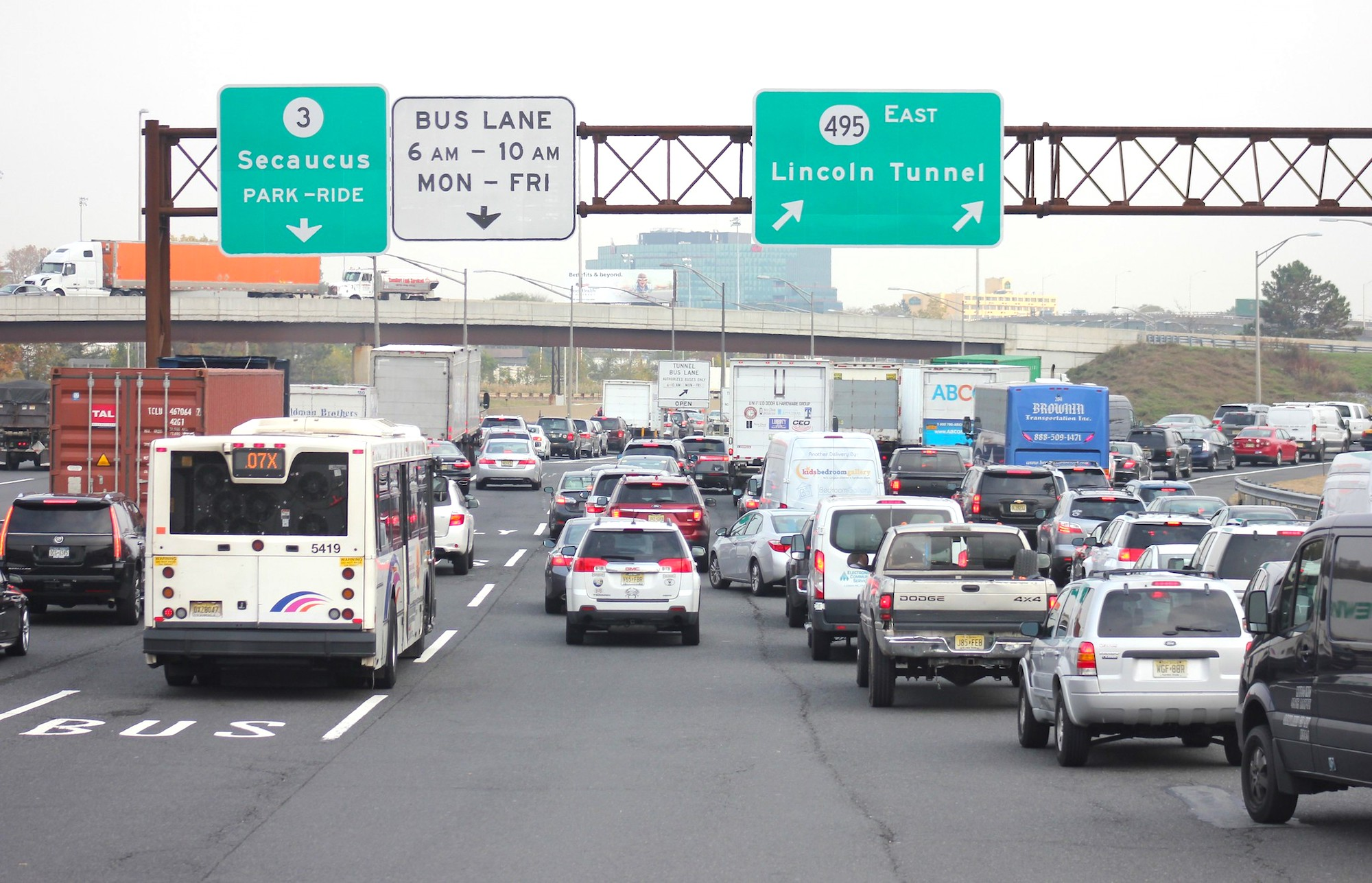 Self Driving Buses Proposed For Busy Lane In Lincoln Tunnel 6sqft