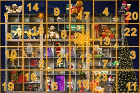 Advent calendar, holidays