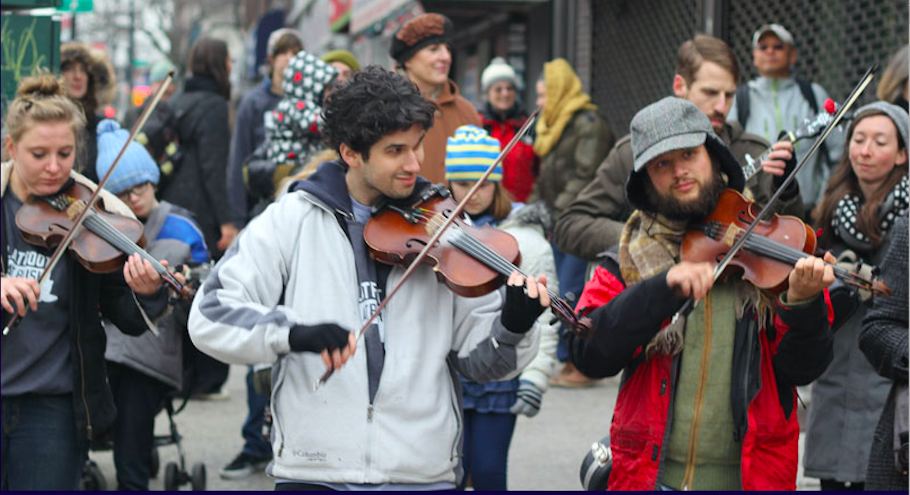 holiday events, holiday, events, wreaths, central park, make music day, make music winter