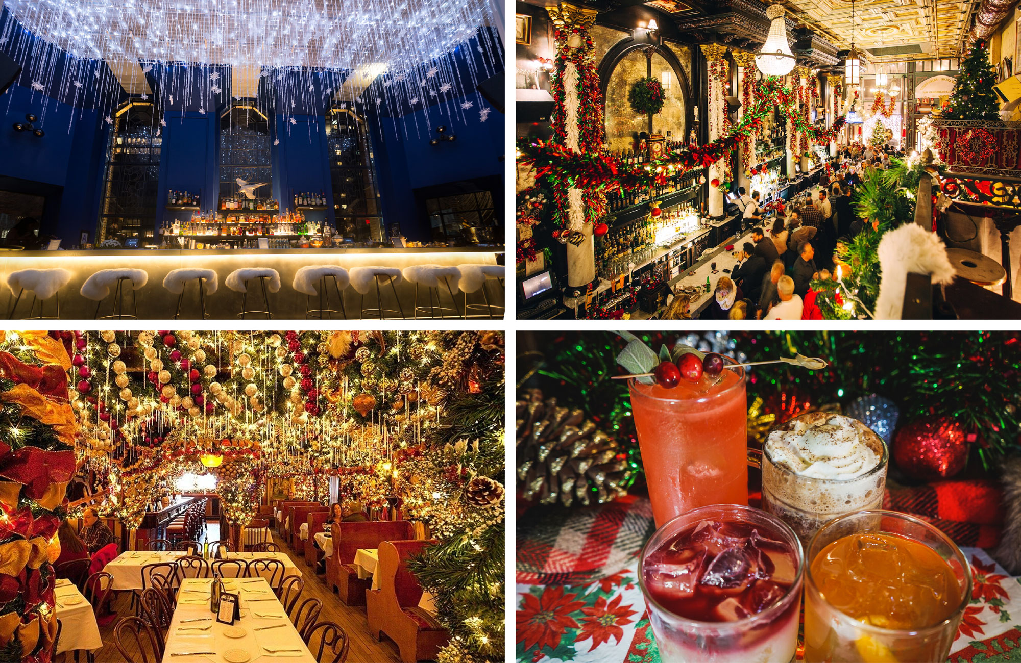 Nyc S 11 Most Festive Bars And Restaurants 6sqft