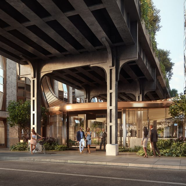 New looks for Thomas Heatherwick's quirky Lantern House condos on the High Line