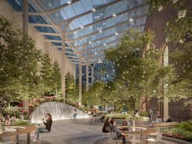 550 Madison Avenue, Snøhetta, Gensler, Olayan Group, Philip Johnson, AT&T Building, Midtown, privately-owned public space, outdoor space