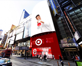 Target, Times Square, NYC stores