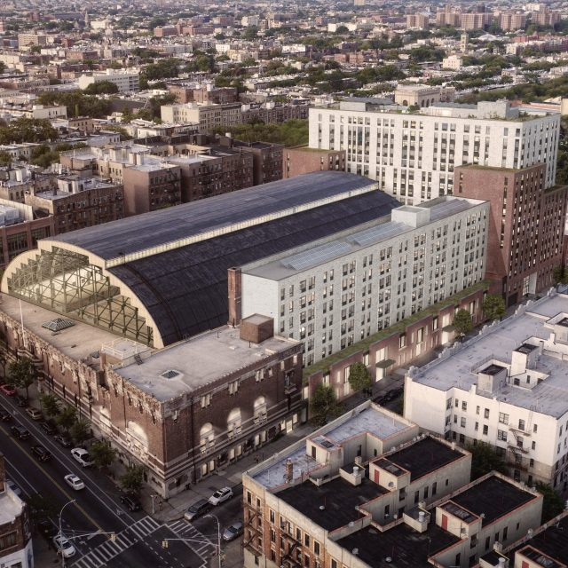 Bedford Union Armory redevelopment project in Crown Heights breaks ground