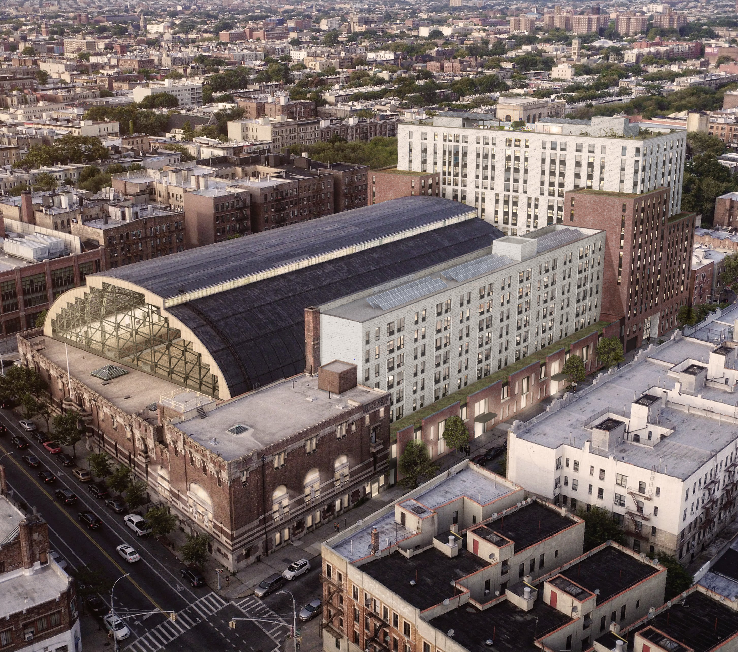 Bedford Union Armory, Crown Heights Armory