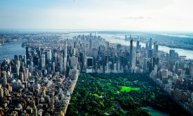NYC skyline, Central Park skyline, Billionaires' Row