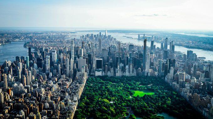 NYC skyline, Central Park skyline, Billionaires' Row