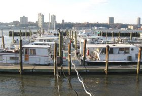 79th street boat basin, upper west side, houseboats